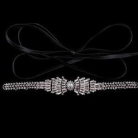Gothic Choker Crystal  Collar pu Leather Clavicle Necklace