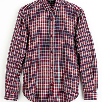 HILL PLAID BUTTON-UP