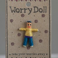 Boy  Worry  Doll  From  Natural  Life
