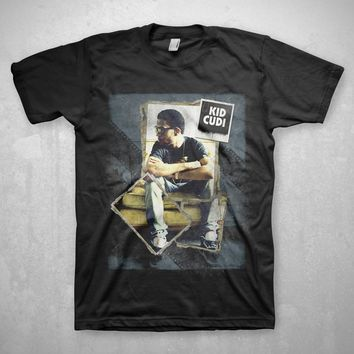 Kid Cudi Film Strip - Mens Black T-Shirt