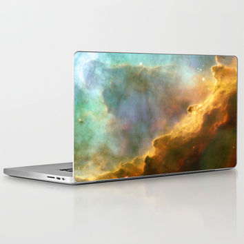 Bright nebula galaxy stars sagittarius constellation hipster geek cool space star nebulae NASA photo Laptop & iPad Skin by iGallery