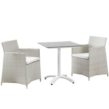 Junction 3 Piece Outdoor Patio Dining Set