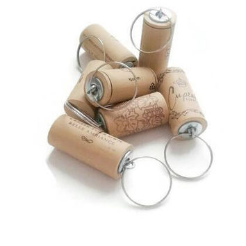 Sale**** Wine cork keychains • set of 100