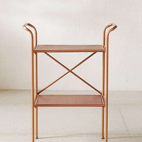 Rustic Metal Side Table | Urban Outfitters