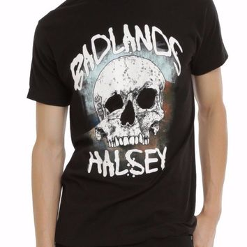 Halsey BADLANDS SKULL T-Shirt NWT Authentic & Licensed