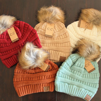 CC Beanie Pom Collection