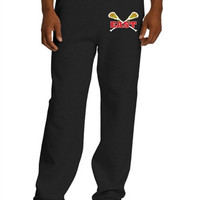 Williamsville East Womens Lacrosse Gildan Mens- DryBlend Open Hem Sweatpant