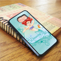 Disney The Little Mermaid Samsung Galaxy S6 Edge Case