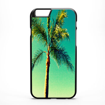 Palm Tree iPhone Case - FREE Shipping to USA palm trees iphone 6 cases handmade sunny florida green slim fit plastic dye sub tropical