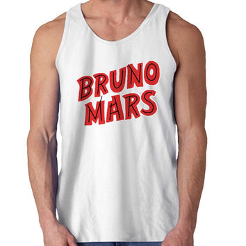 Bruno Mars Red For Mens Tank Top *