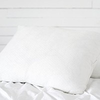 Gel Fiber Down Alternative Pillow - Ultra Plush Gel Fiber Pillows with Hypoallergenic .9 Micro Denier Fill and Super Plush Knit Poly Cover - Crafted in The USA (1 Queen Size Pillow, Soft)