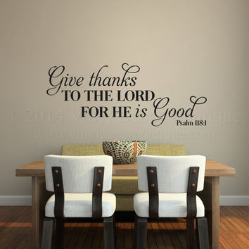 Christian Wall Art Wall Decal Wall Quote From Vinyl Decor