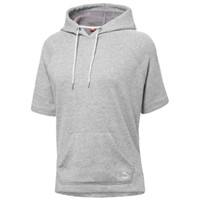 PUMA Costal Summer Short Sleeve Fleece Hoodie - Women's
