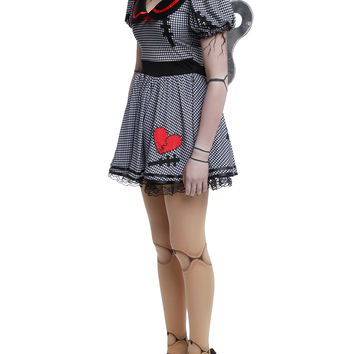 Wind-Up Doll Costume Dress