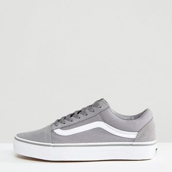 Vans Classic Old Skool Trainers In Grey at asos.com
