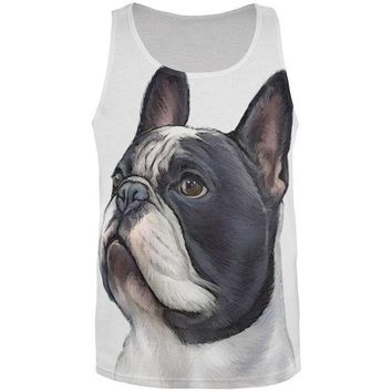 DCCKJY1 Proud French Bulldog All Over Adult Tank Top