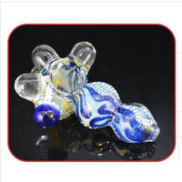 "4"" Habby Vaer Heavy Design Inside Smoking Glass Pipe"