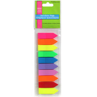 Brightly Colored Self-Stick Page Marking Flags, 500-ct. Packs at Deals