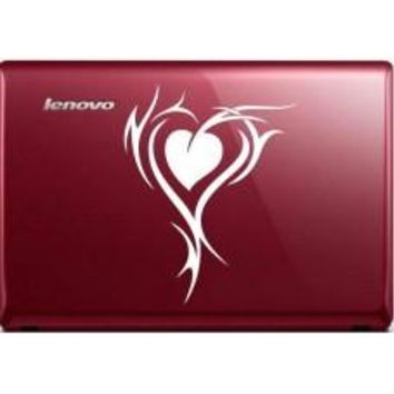 tribal heart (Style #2) Automobile Decal Car Window Decal Tablet PC Computer Automobile Window Wall Laptop Notebook Ipad cell phone