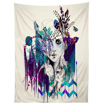 Holly Sharpe Tribal Girl Colourway Tapestry