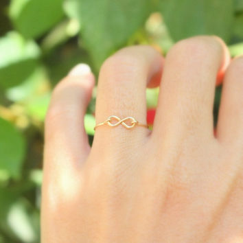 Infinity Ring   Best friend infinity ring sister by JulJewelry