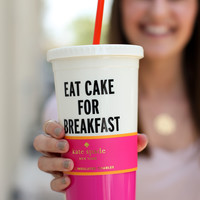 Kate Spade Tumbler - Eat Cake For Breakfast
