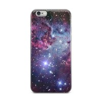 Nebula Galaxy Print iPhone case
