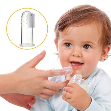 Baby Toothbrush - Silicone Finger Toothbrush - Silicone Material