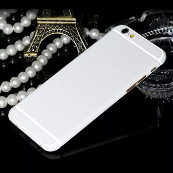 Newest Fashion Front + Back 360 Degree Skin Sticker Full Body Decal Wrap Phone Case Cover For iPhone 6 6S/6S Plus