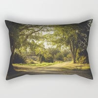 On the road again Rectangular Pillow by HappyMelvin