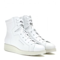 Feliks high-top leather sneakers