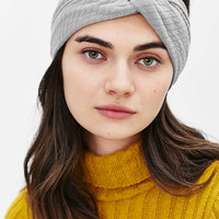 Wide Rib Twist Headwrap - Urban Outfitters
