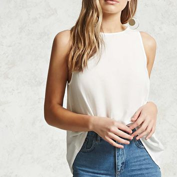 Keyhole Back Swing Top