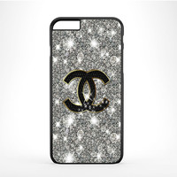 Chanel Glitter Sparkly Art iPhone 6 Plus Case