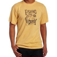 Life is good Men's Creamy Fishing Derby T-Shirt