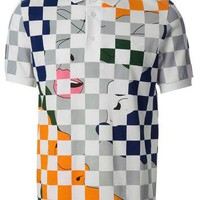 Raf Simons - Fred Perry Checked Polo Shirt