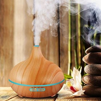 300ml Air Humidifier Essential Oil Diffuser With LED Lights
