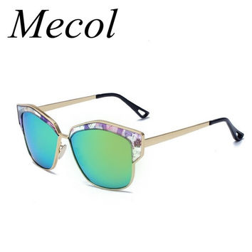 2016 Fashion Brand Designer  Sunglasses women Metal Frame Retro Sun Glasses Men Mirror Lens Eyewear Lunette De Soleil M103