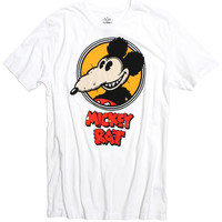 Official Mickey Rat Classic Spotlight White Tee