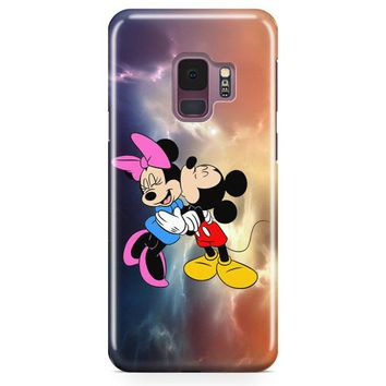 Mickey Mouse And Minnie Mouse Cute Couple Cartoon Samsung Galaxy S9 Case | Casefantasy