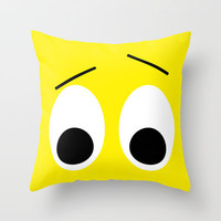I is Surprised Throw Pillow by Alice Gosling | Society6