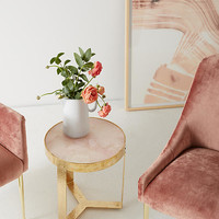 Pink Quartz Lirit Side Table