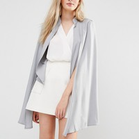 Love & Other Things Cape Blazer at asos.com
