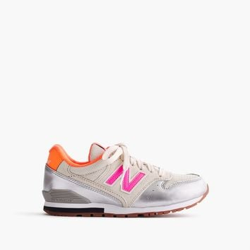 Kids' New Balance® for crewcuts 996 lace-up sneakers : Girl sneakers | J.Crew