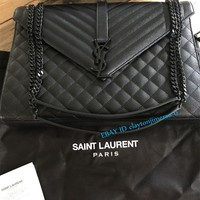YSL large envelope shoulder bag , 100% authentic with receipt