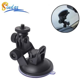 MINI Sucker Car Driving Recorder Mount DVR Bracket Screw Connector Rack DV GPS Camera Stand Holder