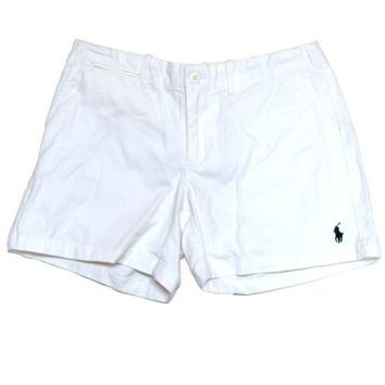 Ralph Lauren Sport Shorts Womens Polo Pony Logo Inseam 5 In Cotton New Rl V027