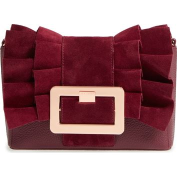 Ted Baker London Nerinee Bow Buckle Clutch | Nordstrom