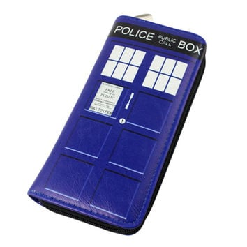 Doctor Who Zip Around Wallet