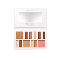 BH Cosmetics Illuminate By Ashley Tisdale Beach Goddess 12 Color Eye & Cheek Collection, 0.26 Pound
